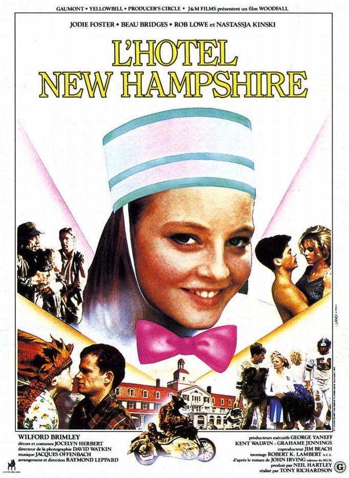 affiche du film L'hôtel New Hampshire