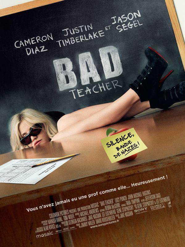 affiche du film Bad Teacher