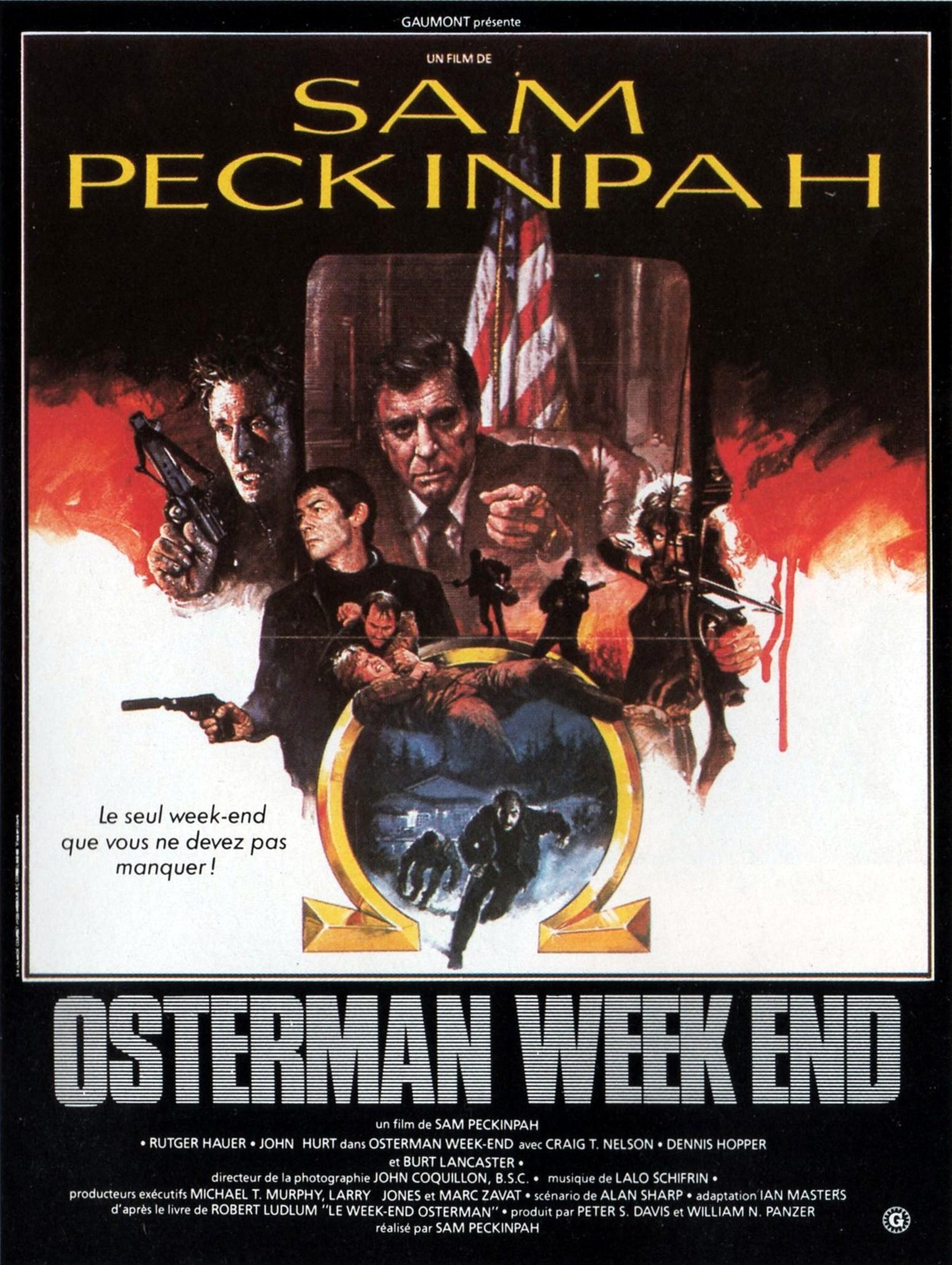 affiche du film Osterman Weekend
