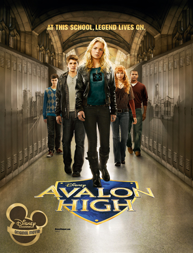 affiche du film Avalon High : Un amour légendaire (TV)