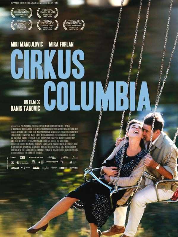 affiche du film Cirkus Columbia