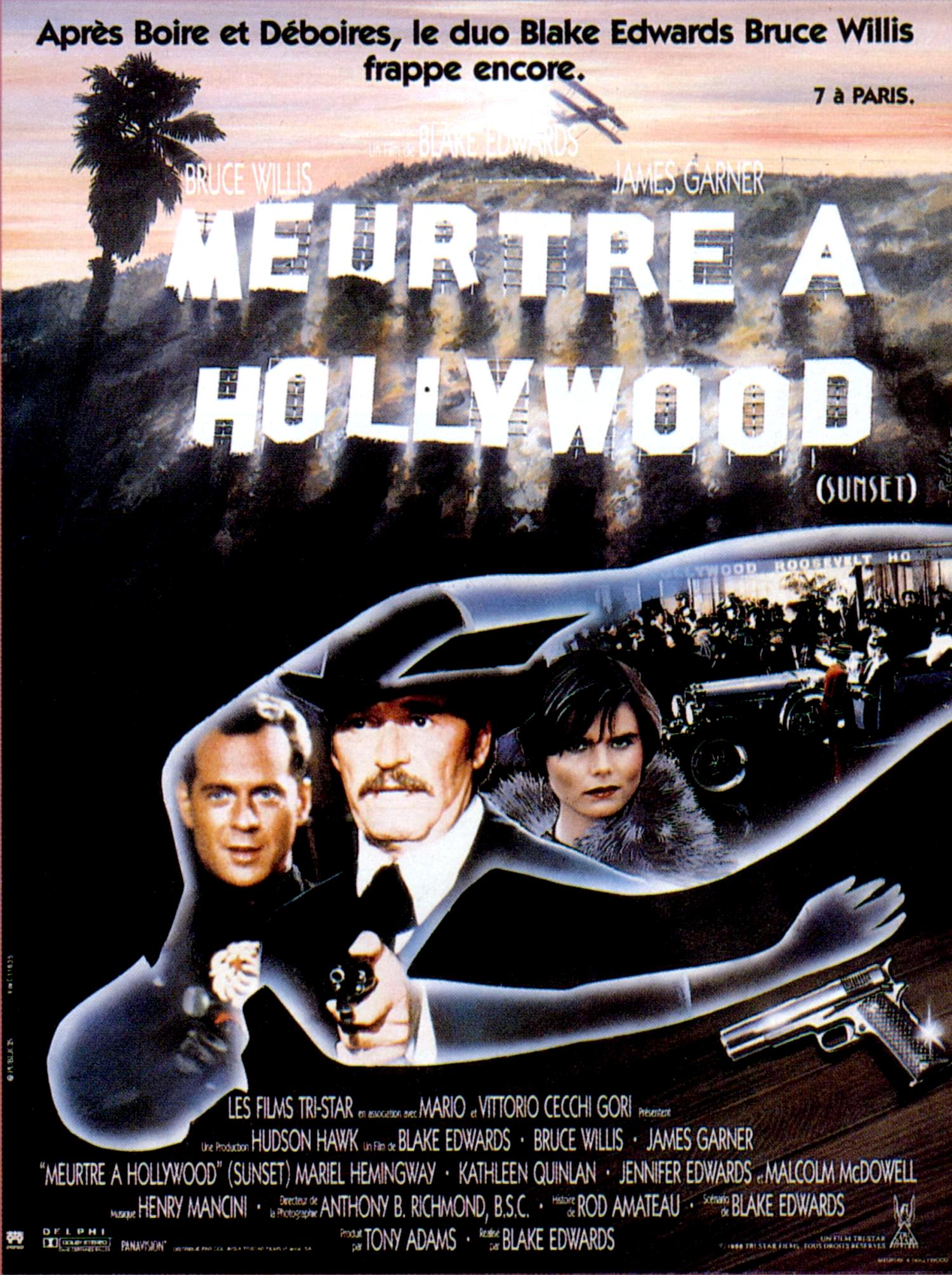 affiche du film Meurtre à Hollywood