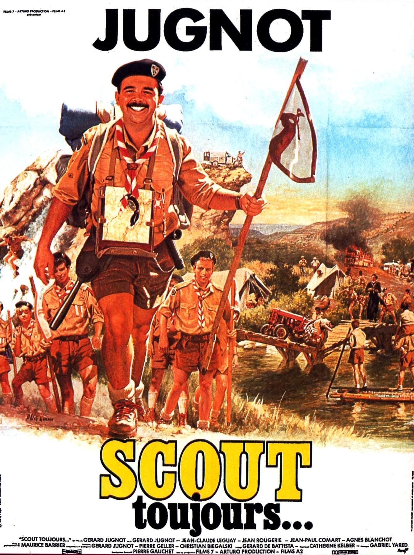 affiche du film Scout toujours...