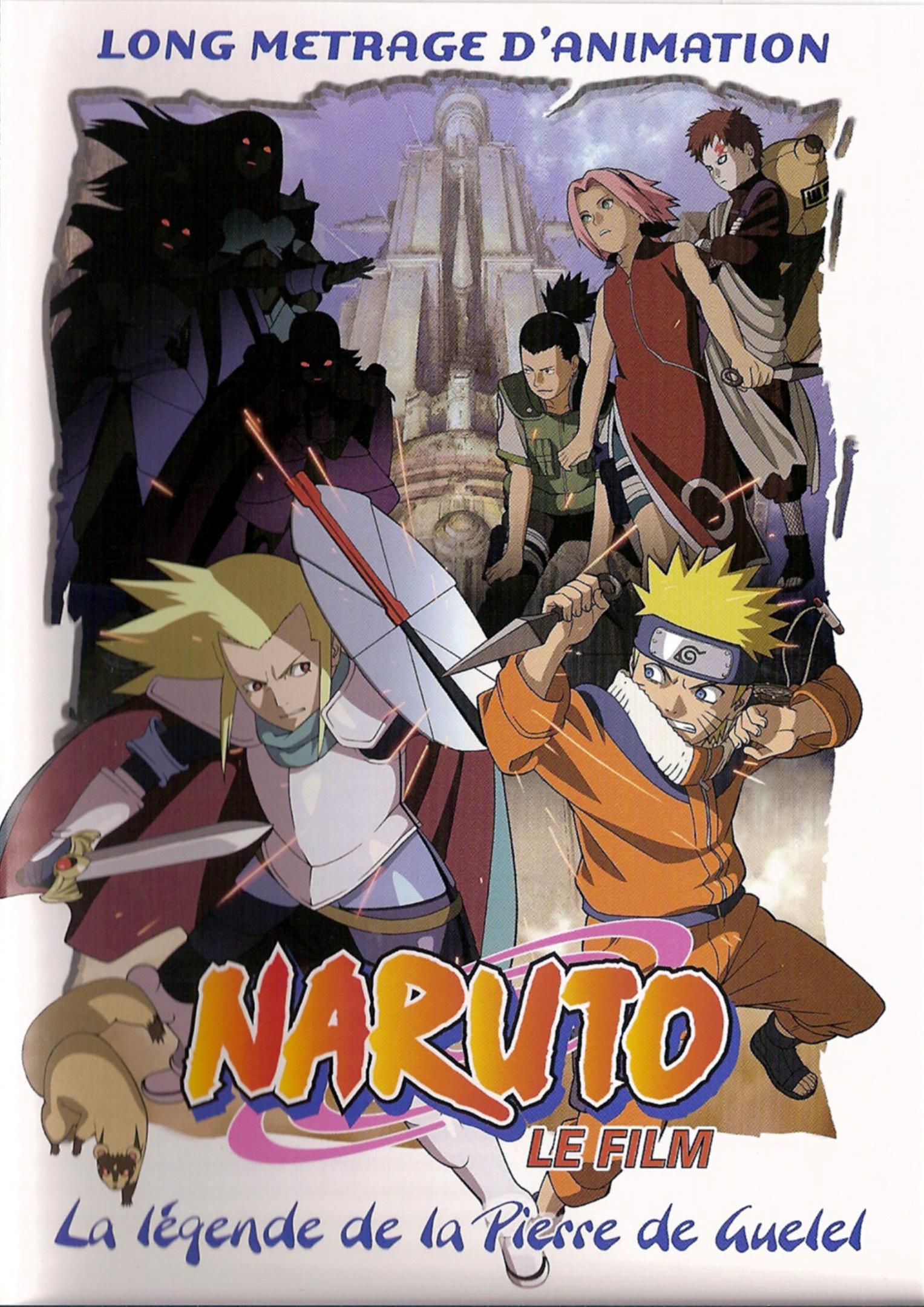 affiche du film Naruto Le Film: La légende de la pierre de Guélel