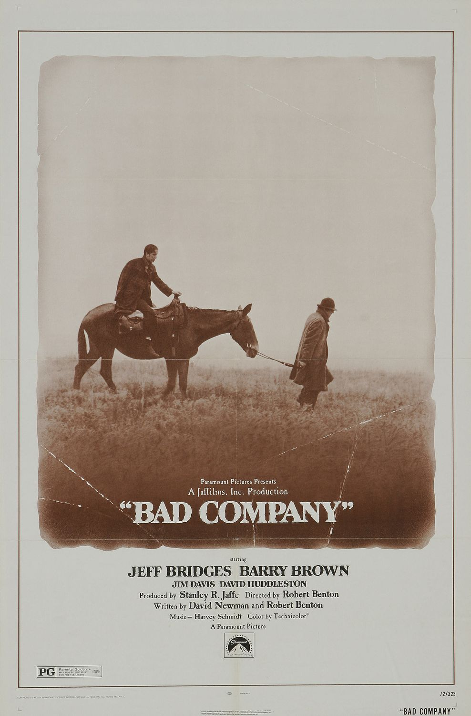 affiche du film Bad Company (1972)