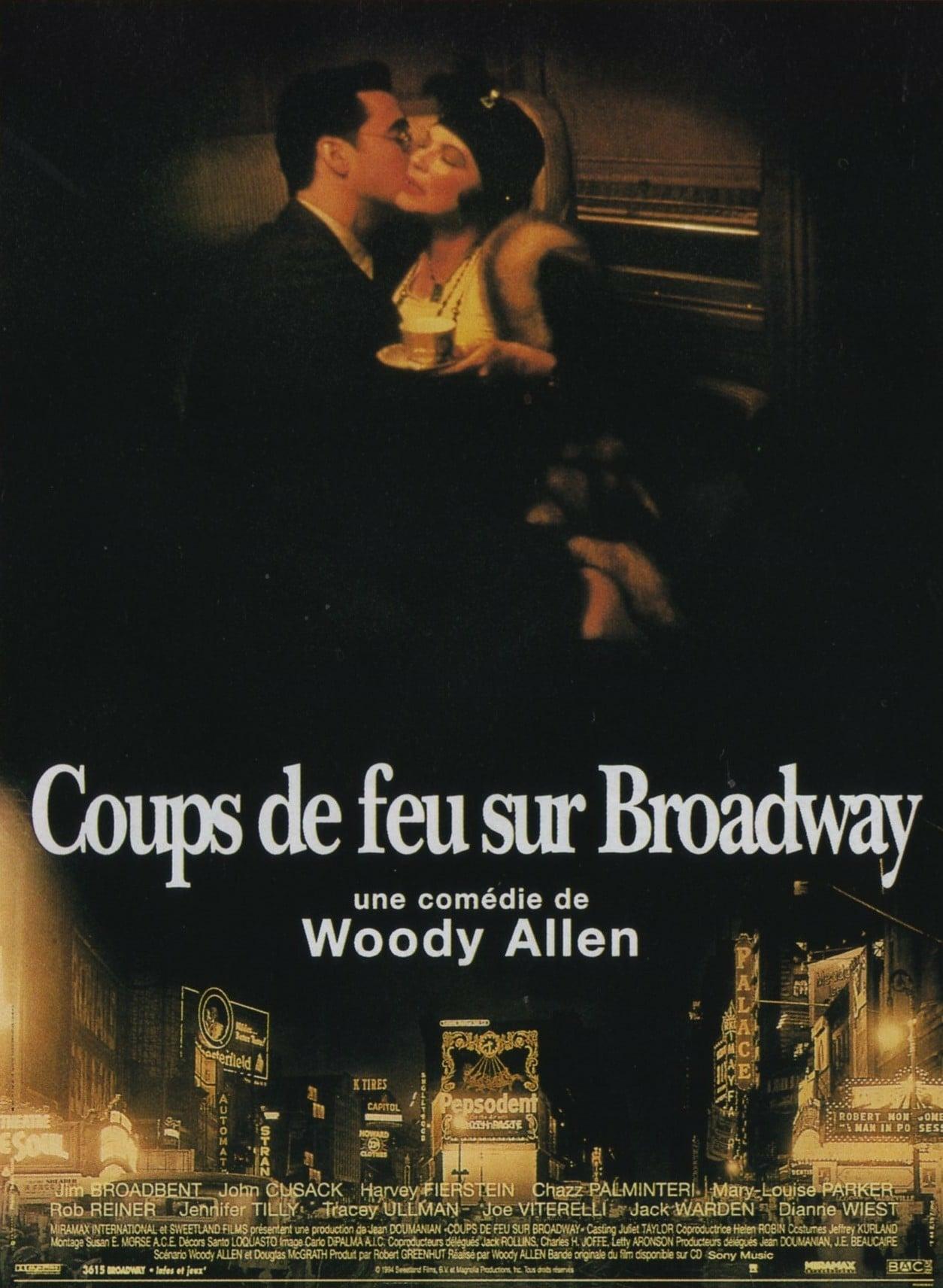 affiche du film Coups de feu sur Broadway