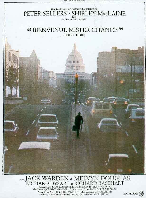 affiche du film Bienvenue Mister Chance