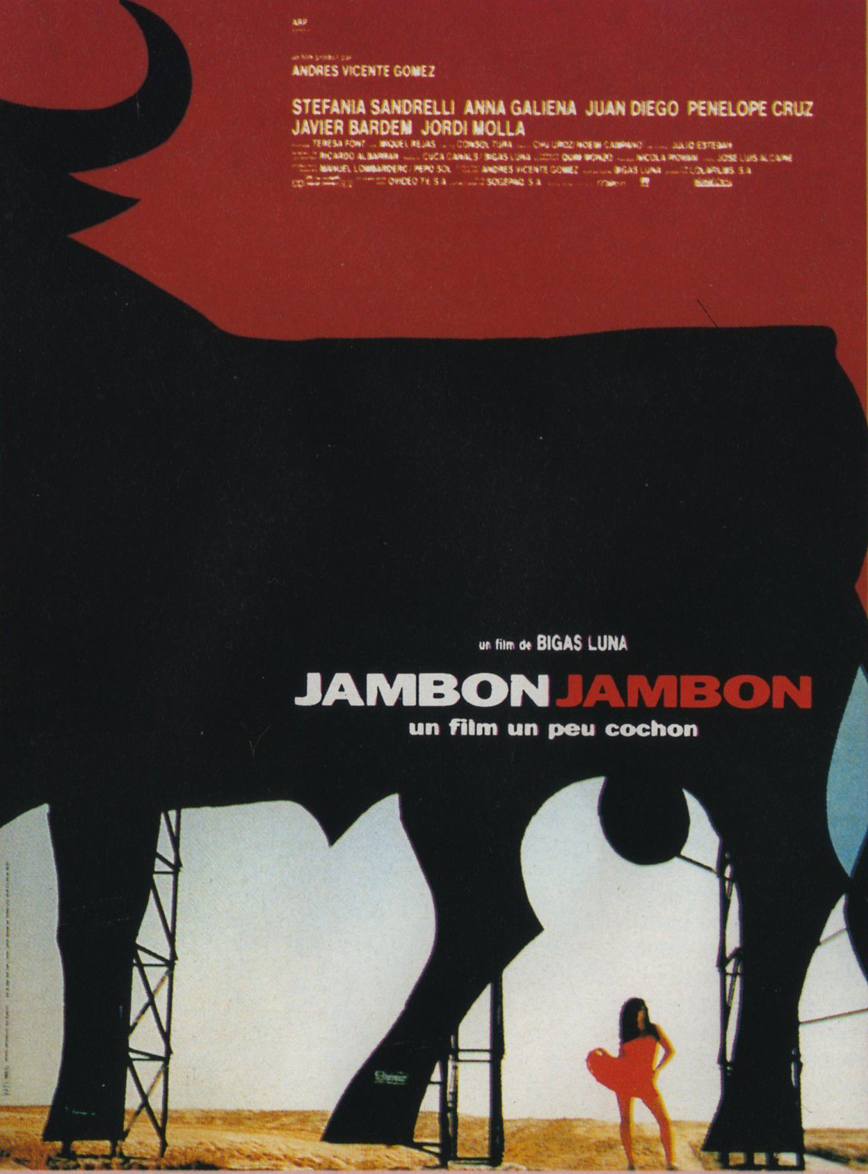 affiche du film Jambon, Jambon