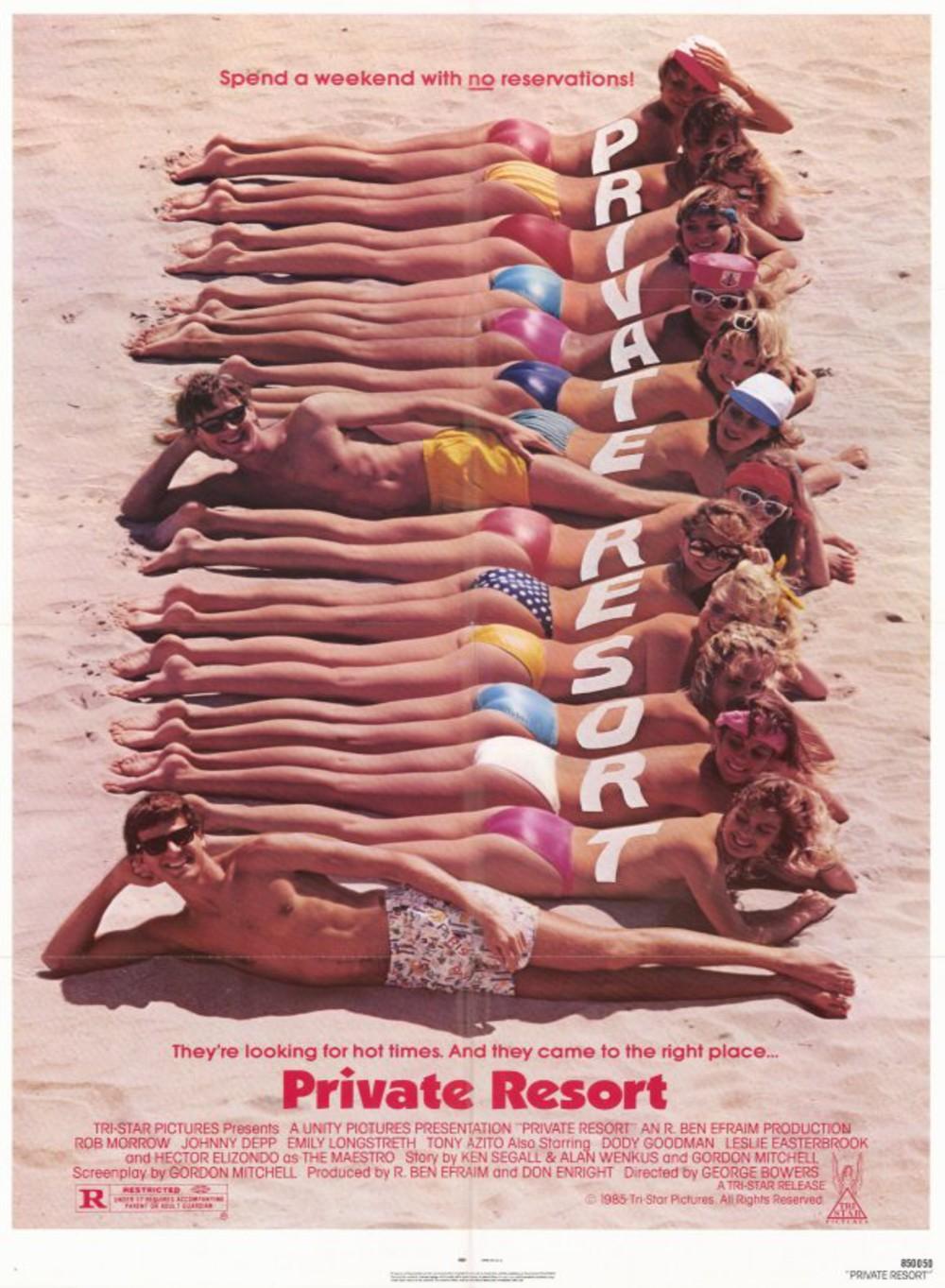 affiche du film Private Resort