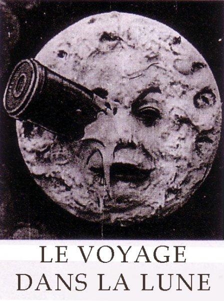 affiche du film Le voyage dans la Lune (1902)