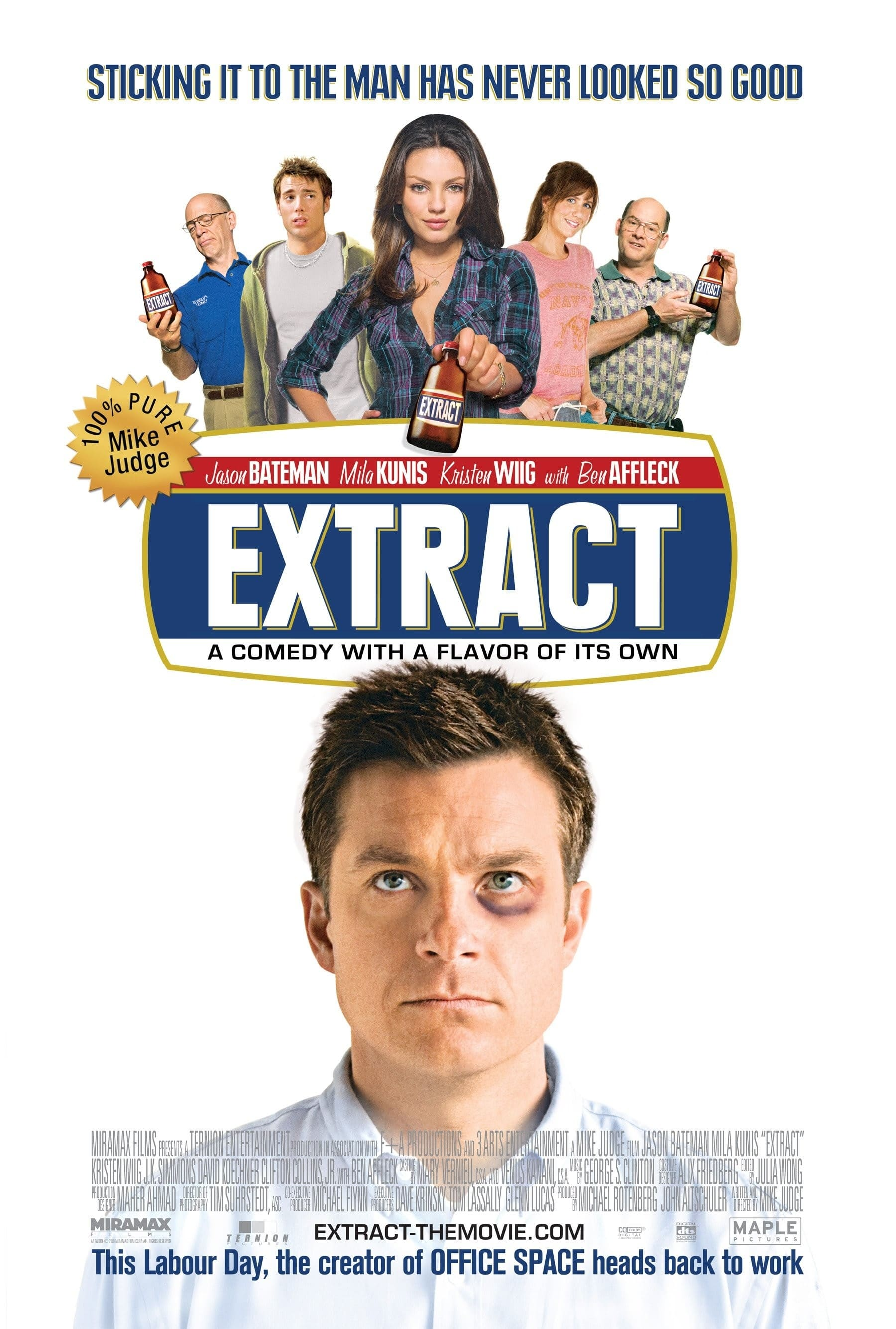 affiche du film Extract