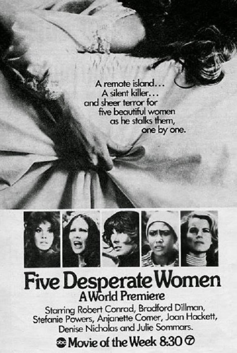 affiche du film Five Desperate Women (TV)