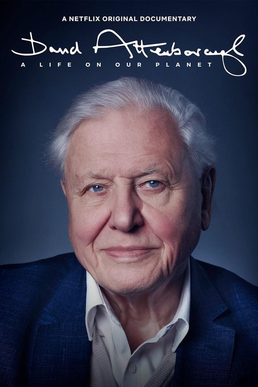 affiche du film David Attenborough : Une vie sur notre planète