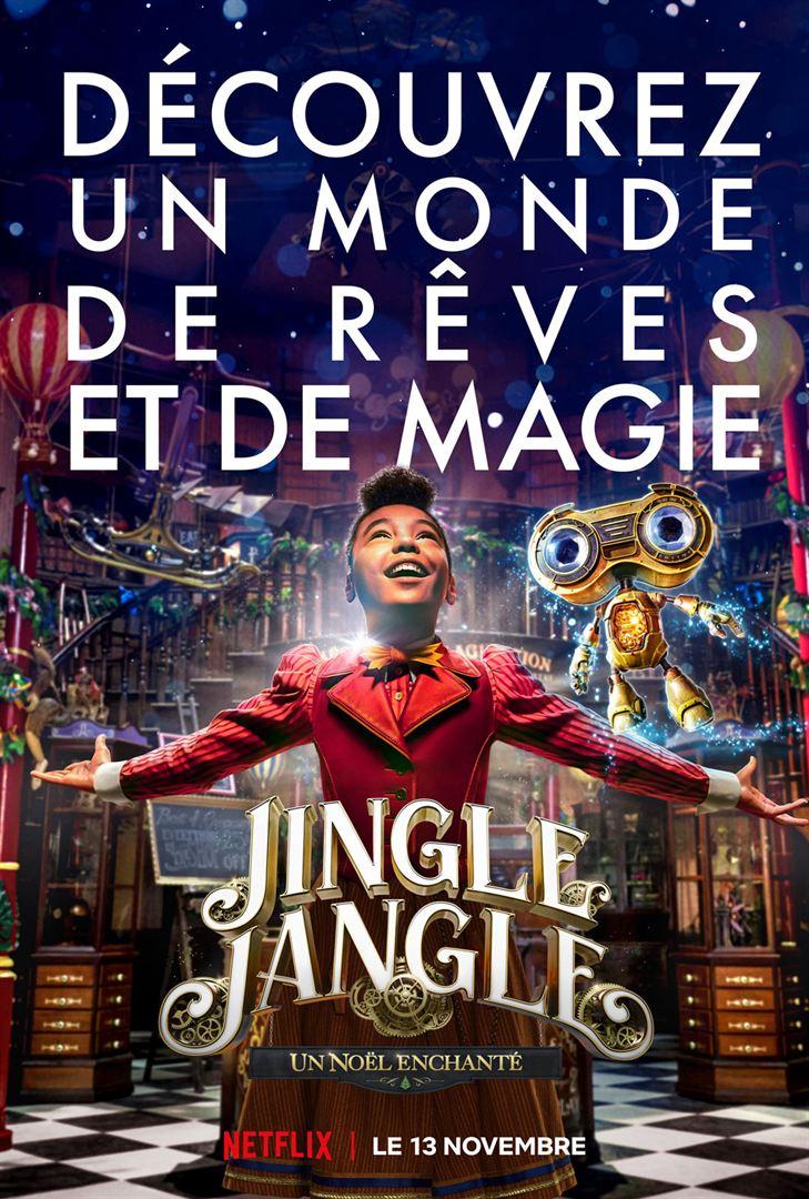 affiche du film Jingle Jangle : Un Noël enchanté