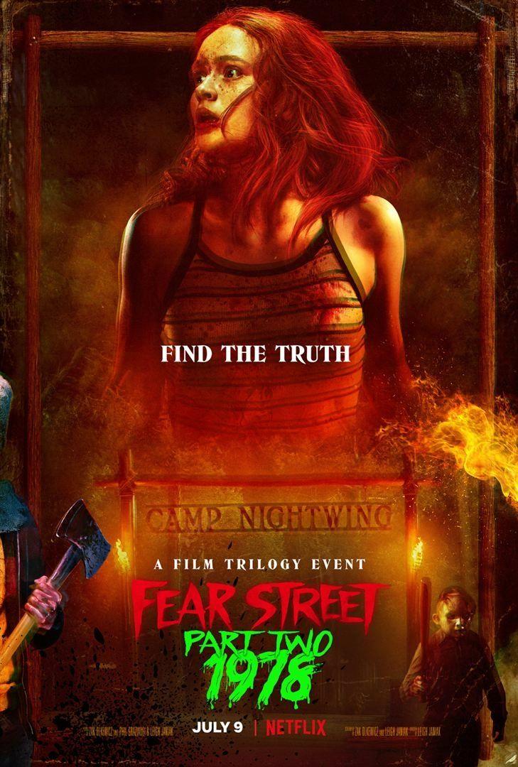 affiche du film Fear Street - Partie 2 : 1978