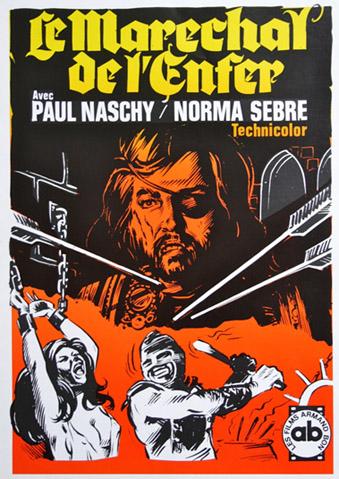 affiche du film Le Maréchal de l'enfer
