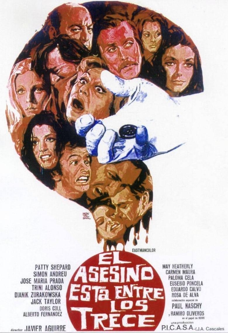 affiche du film El asesino está entre los trece