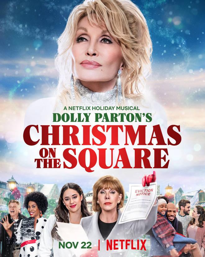 affiche du film Dolly Parton : C'est Noël chez nous