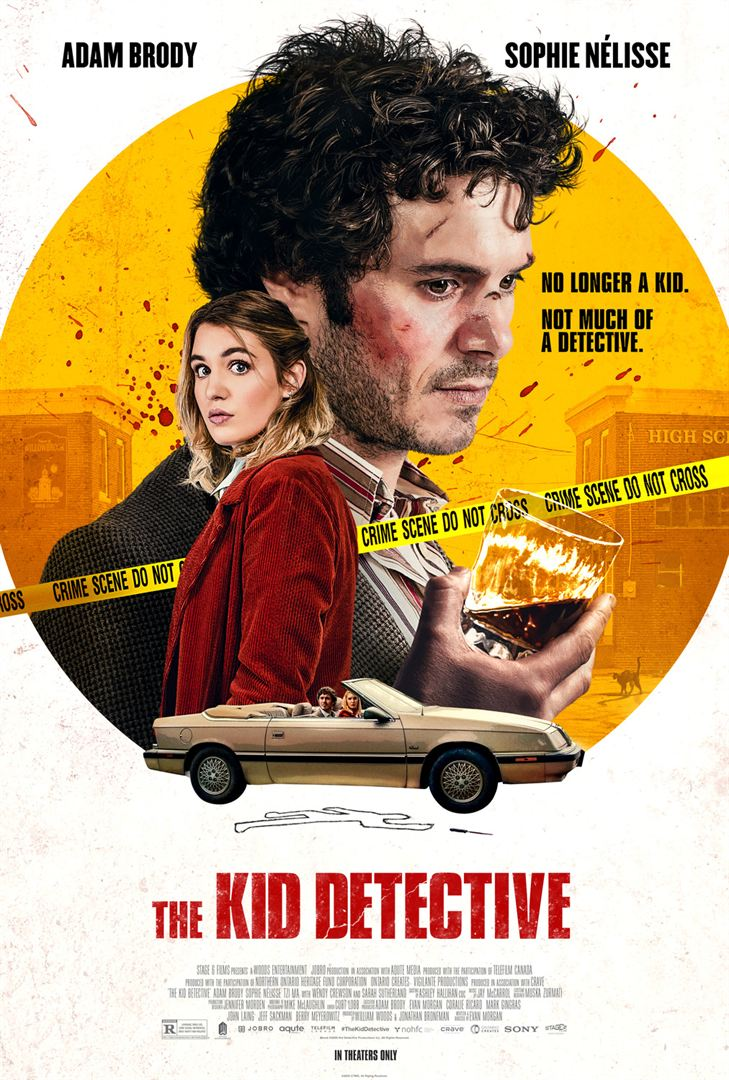 affiche du film The Kid Detective