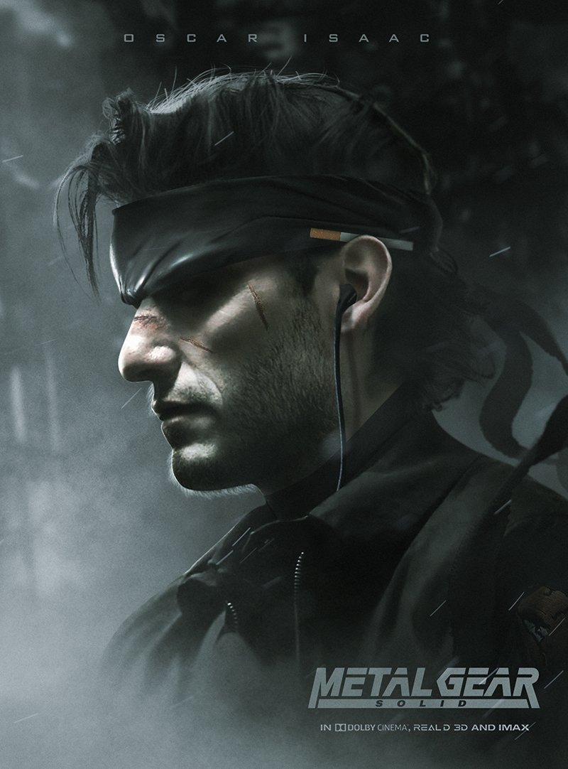 affiche du film Metal Gear Solid