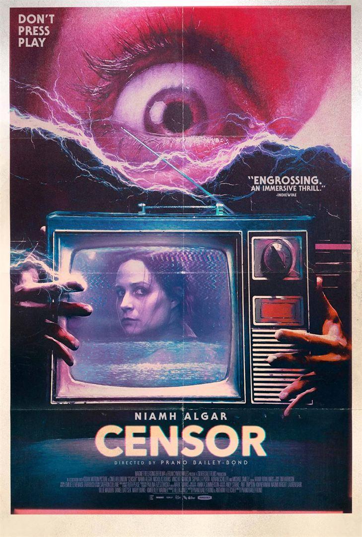 affiche du film Censor