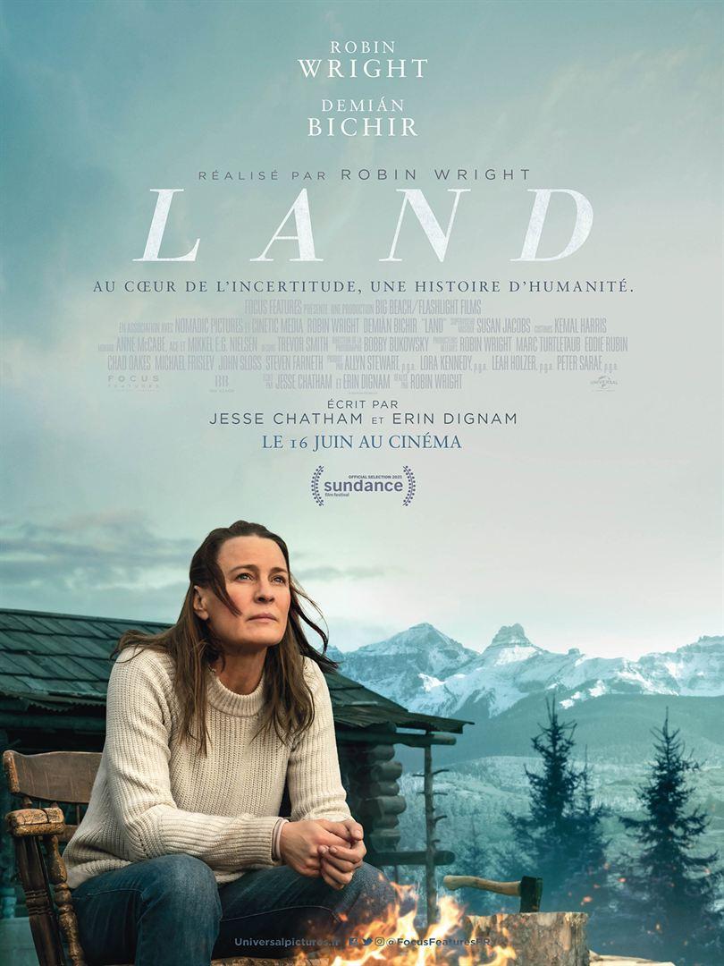 affiche du film Land