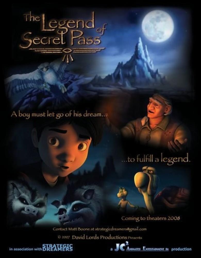 affiche du film La légende du passage secret