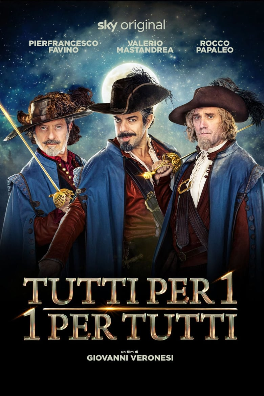 affiche du film Tutti per 1 - 1 per tutti