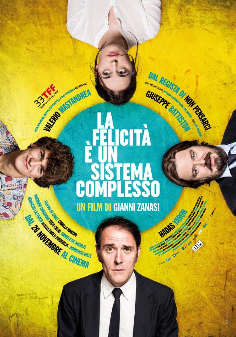 affiche du film La felicità è un sistema complesso
