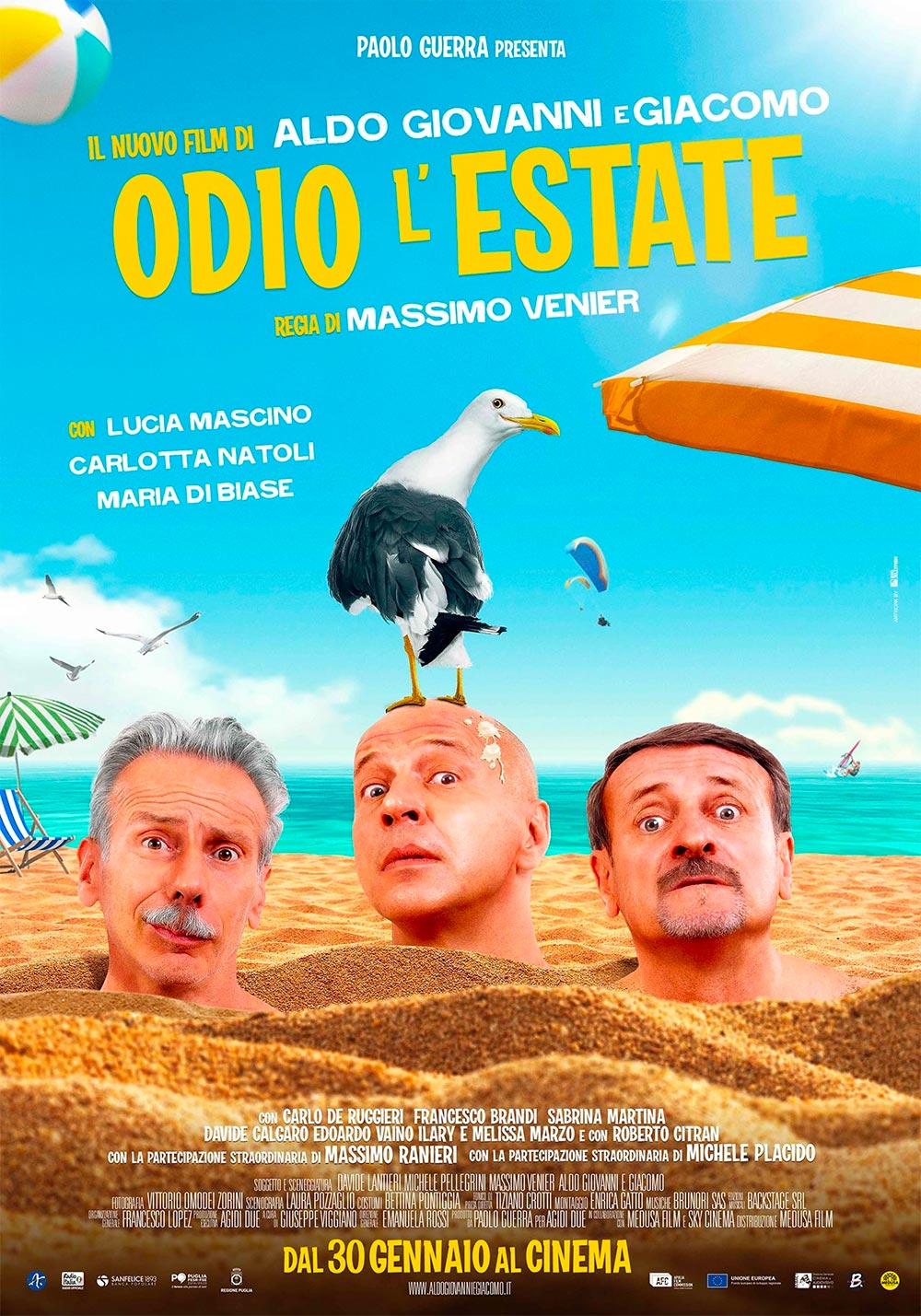 affiche du film Odio l'estate
