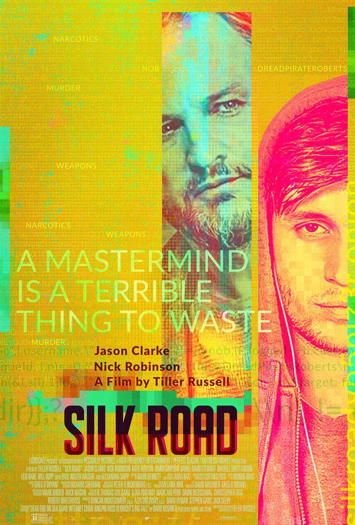 affiche du film Silk Road