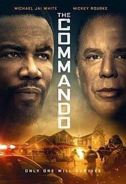 affiche du film The Commando