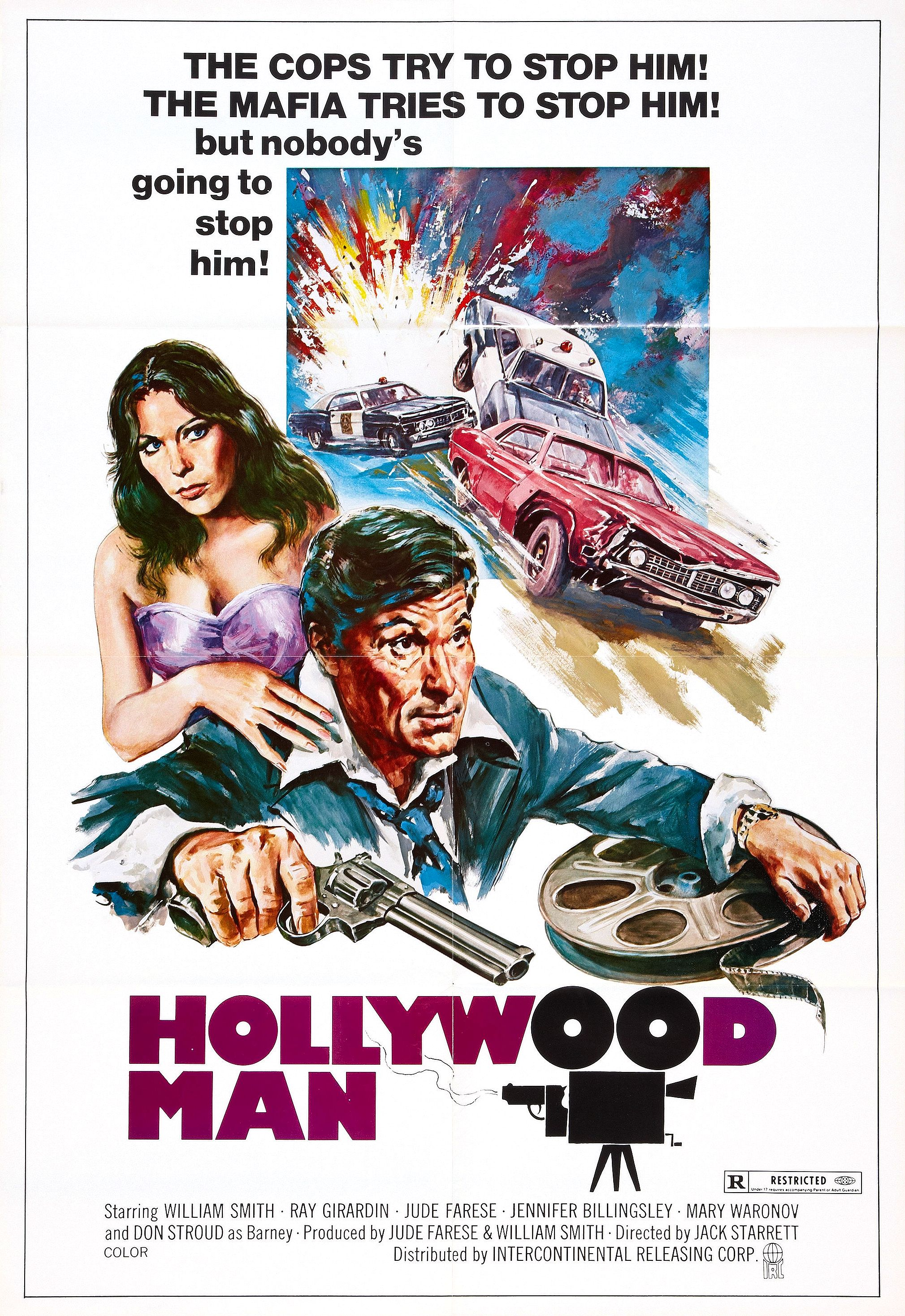 affiche du film Hollywood Man