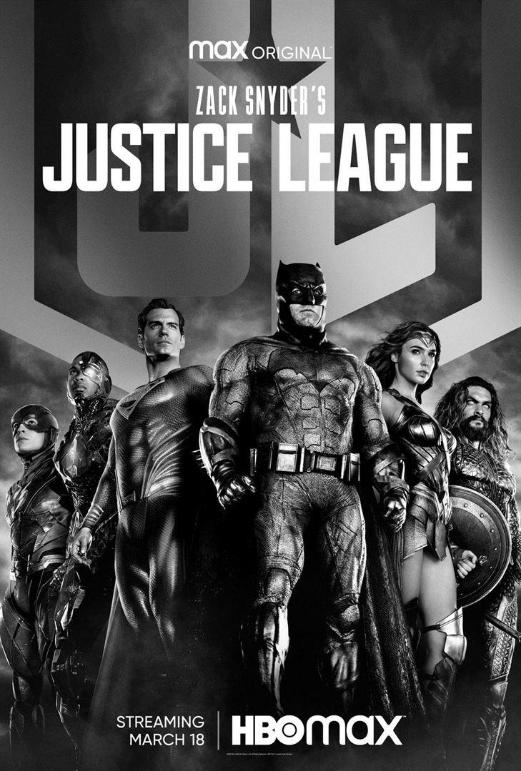 affiche du film Zack Snyder's Justice League