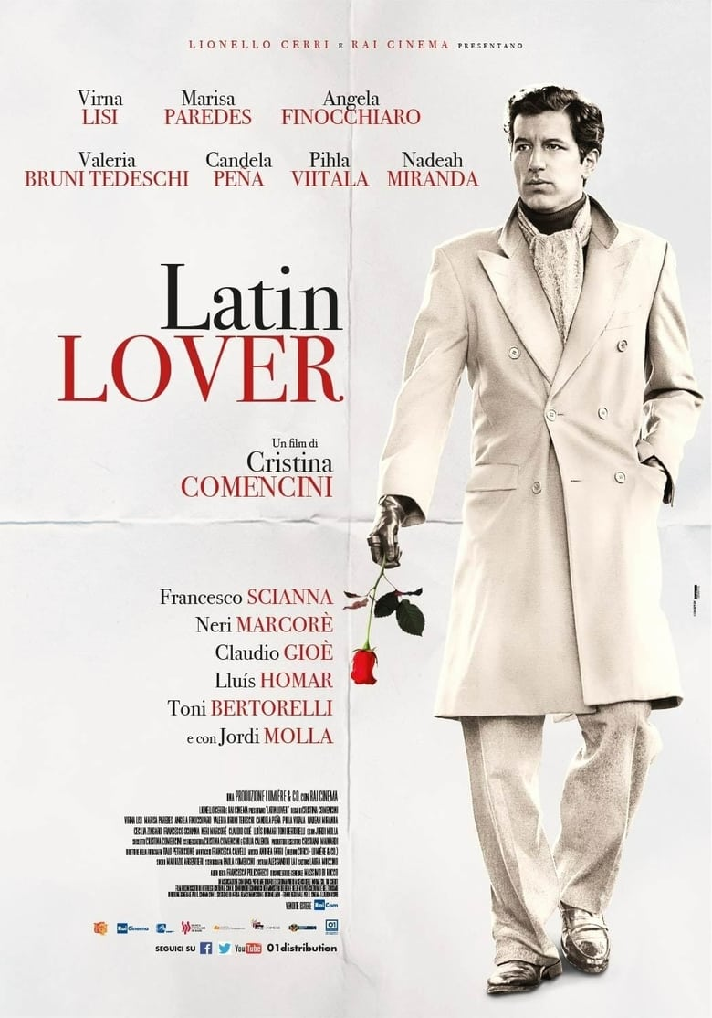 affiche du film Latin Lover