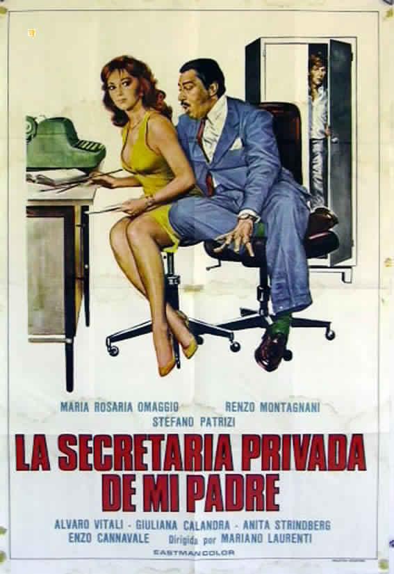 affiche du film La segretaria privata di mio padre