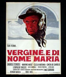 affiche du film Vergine, e di nome Maria