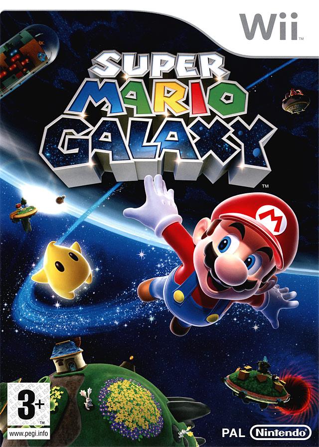 jaquette du jeu vidéo Super Mario Galaxy