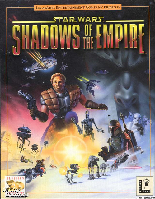 jaquette du jeu vidéo Star Wars: Shadows of the Empire