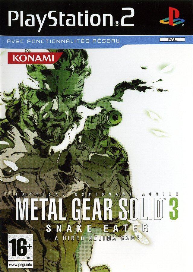 jaquette du jeu vidéo Metal Gear Solid 3 : Snake Eater