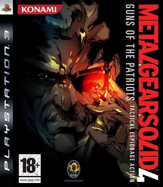 jaquette du jeu vidéo Metal Gear Solid 4: Guns of the Patriots