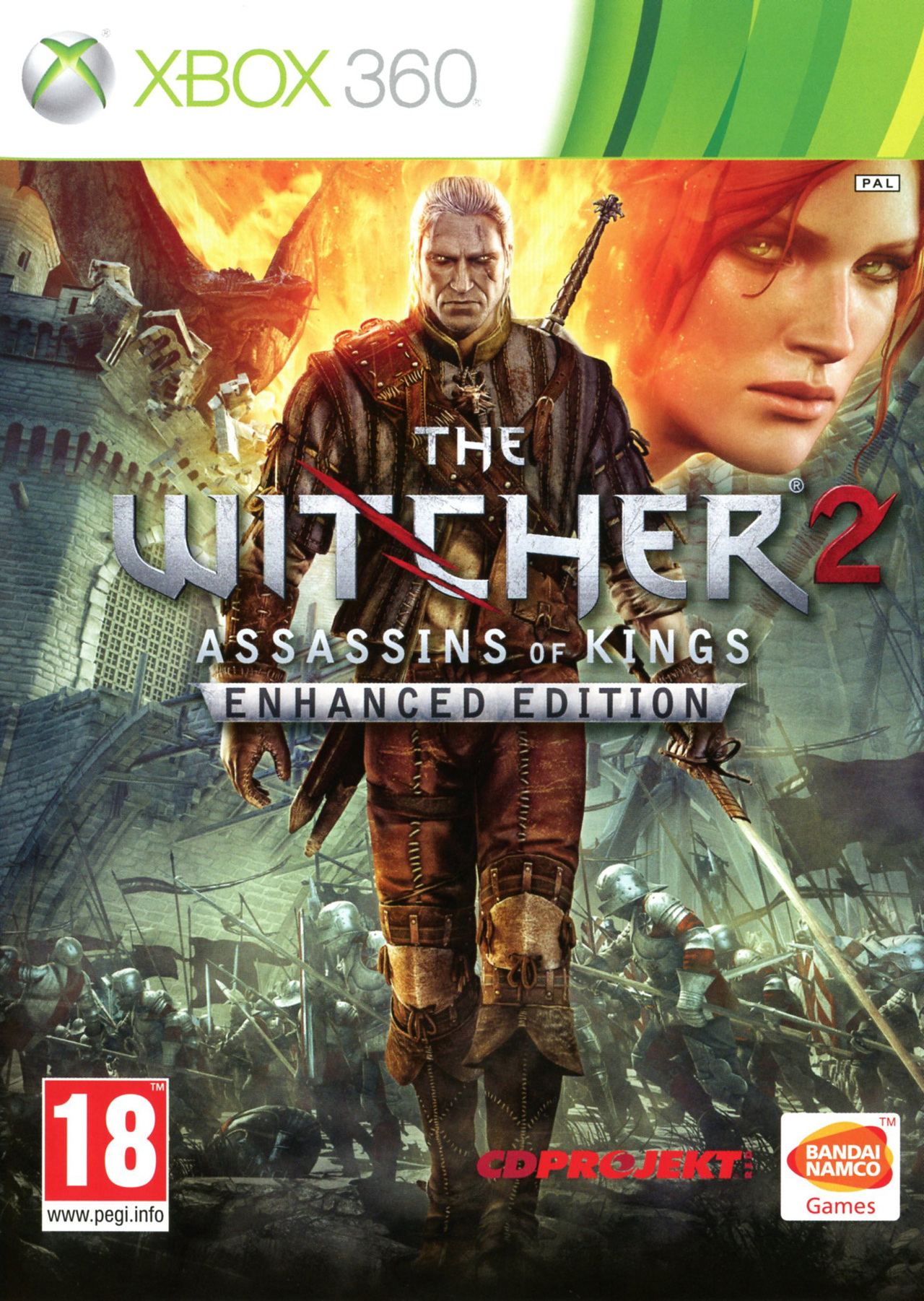 jaquette du jeu vidéo The Witcher 2 - Assassins of Kings