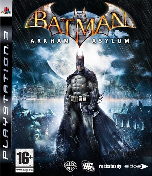 jaquette du jeu vidéo Batman: Arkham Asylum