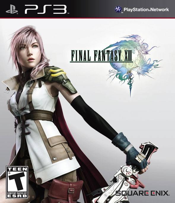 jaquette du jeu vidéo Final Fantasy XIII