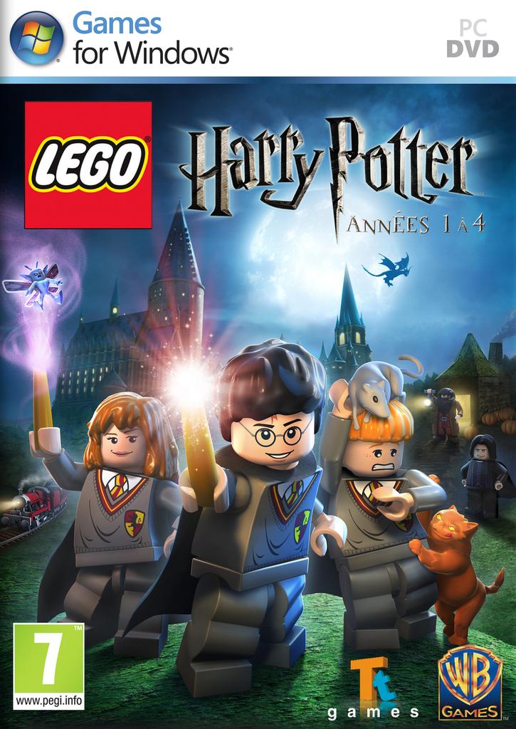 jaquette du jeu vidéo Lego Harry Potter : Années 1 à 4