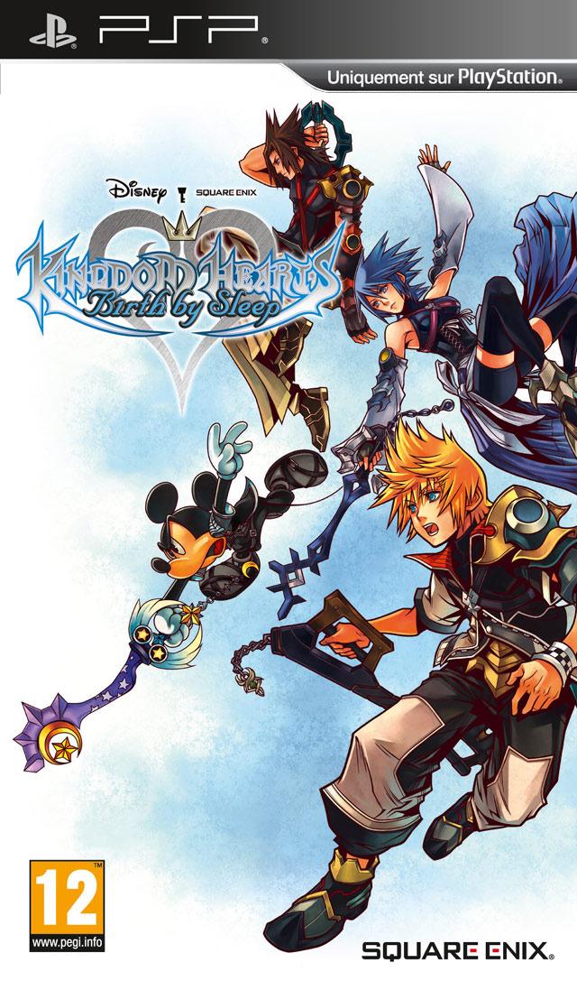 jaquette du jeu vidéo Kingdom Hearts: Birth by Sleep