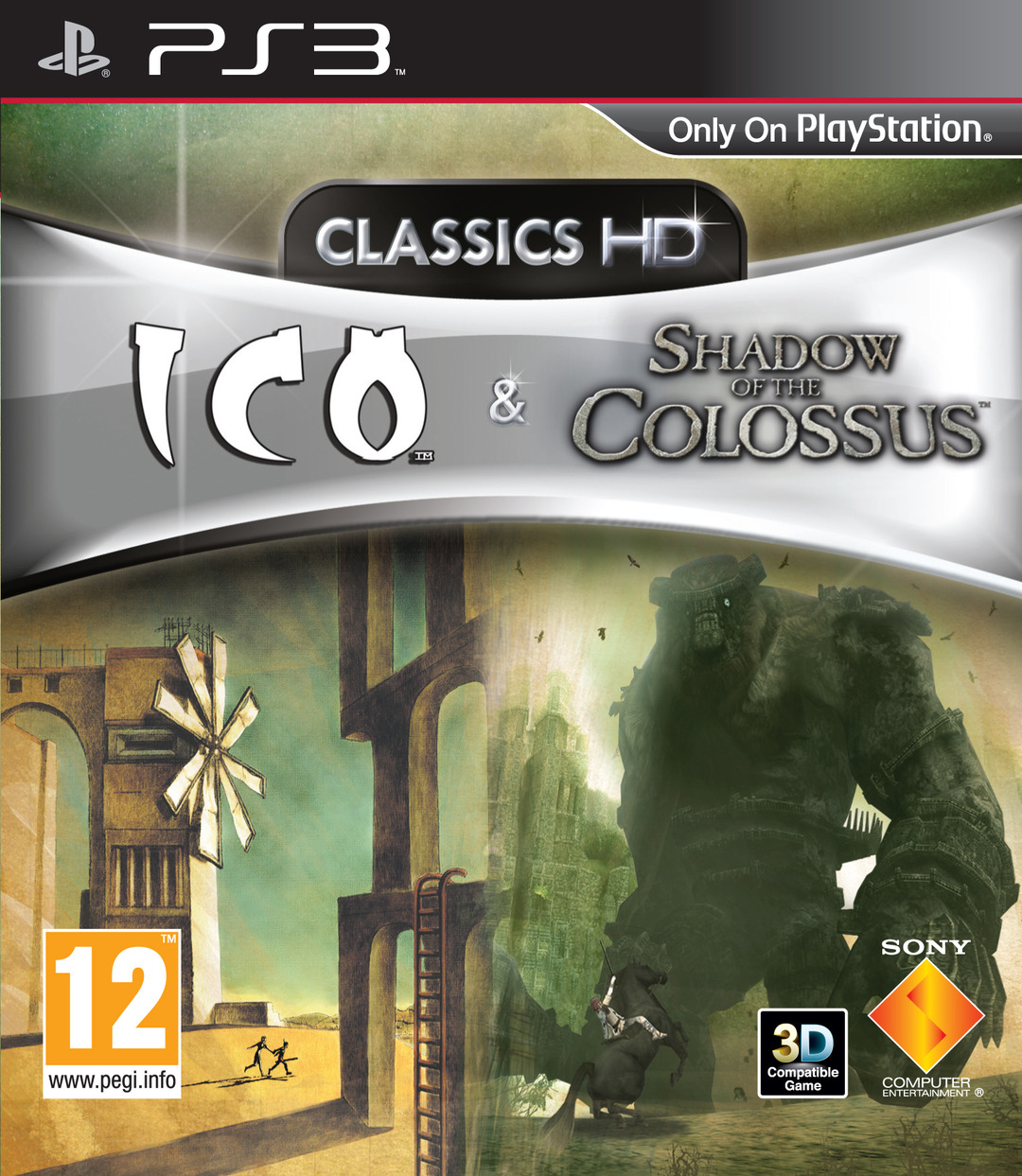 jaquette du jeu vidéo Ico & Shadow of the Colossus