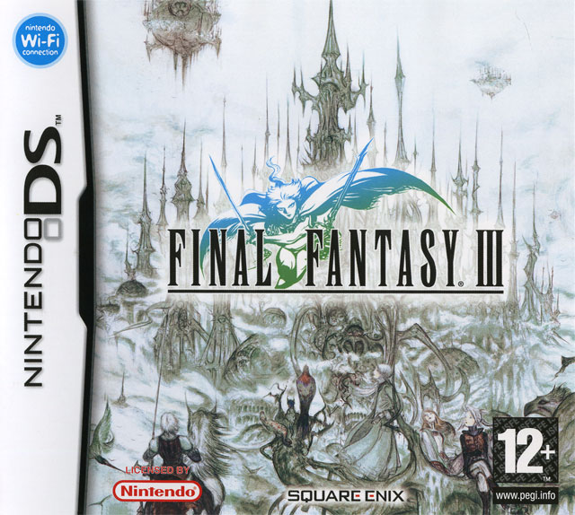 jaquette du jeu vidéo Final Fantasy III