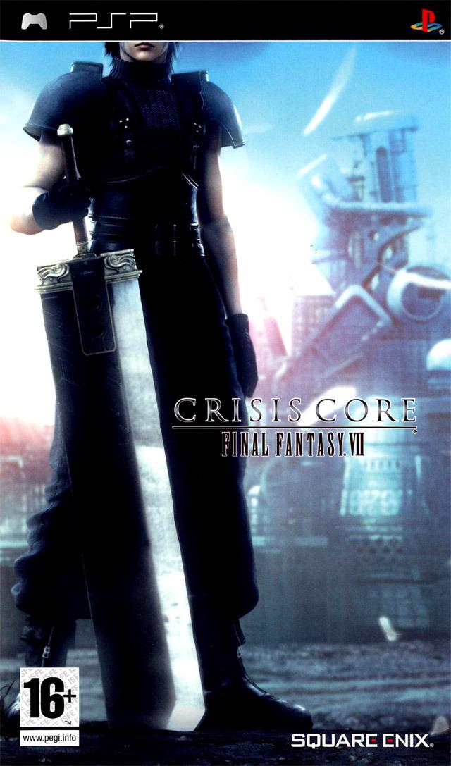 jaquette du jeu vidéo Final Fantasy VII: Crisis Core