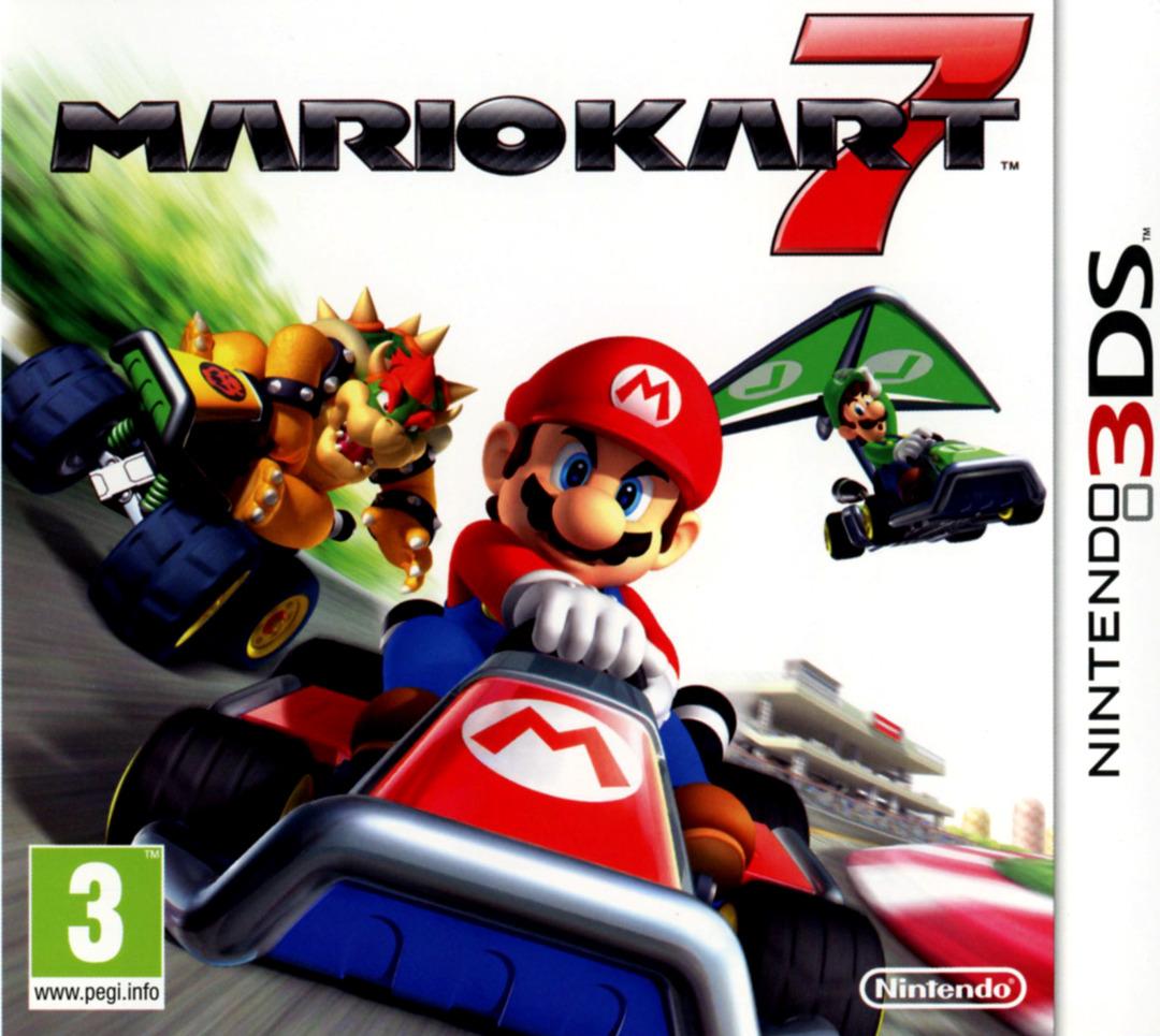 jaquette du jeu vidéo Mario Kart 7